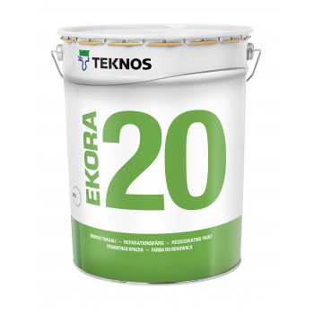 TEKNOS EKORA 20 краска для стен и потолков стойкая к мытью и износу