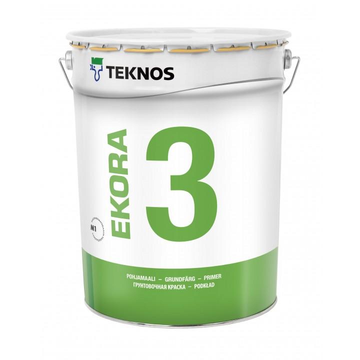 TEKNOS EKORA 3 краска грунтовочная для стен и потолков