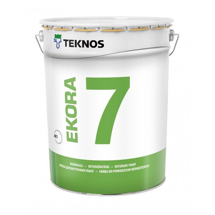 TEKNOS EKORA 7 краска акрилатная для стен и потолков