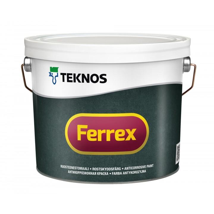 TEKNOS FERREX краска антикоррозионная