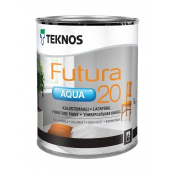 TEKNOS FUTURA AQUA 20 краска универсальная уретано-алкидная
