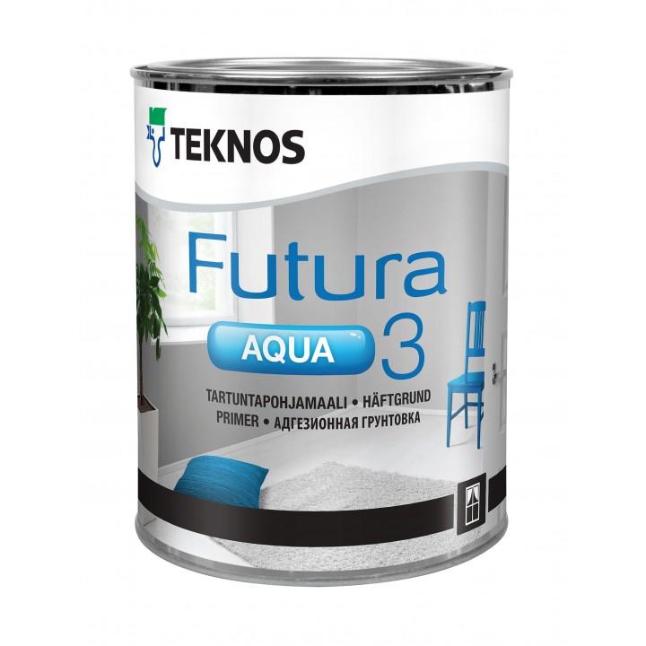TEKNOS FUTURA AQUA 3 грунтовка адгезионная