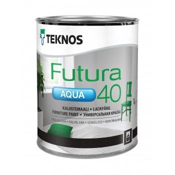 TEKNOS FUTURA AQUA 40 краска универсальная уретано-алкидная