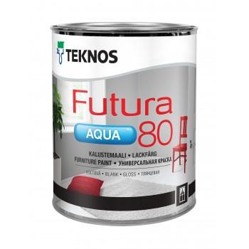 TEKNOS FUTURA AQUA 80 краска универсальная уретано-алкидная