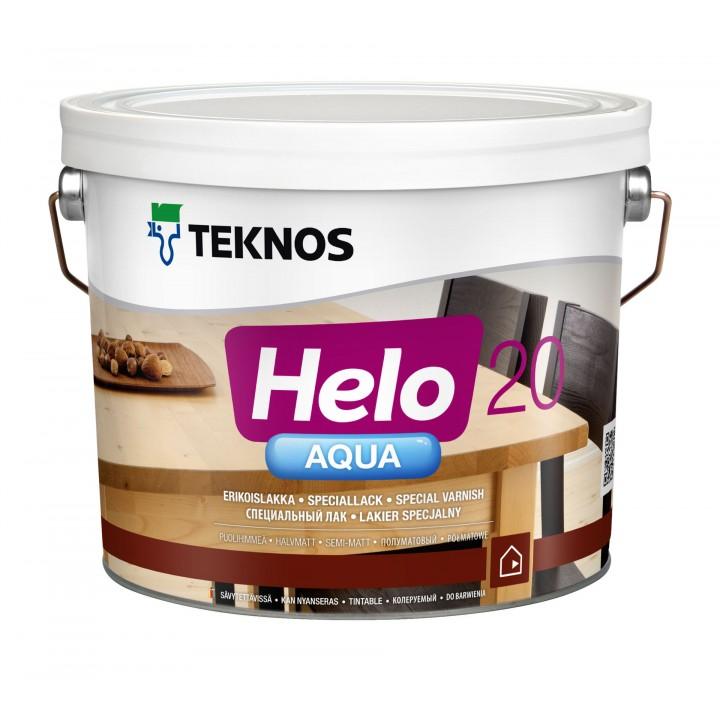 TEKNOS HELO AQUA 20 лак водоразбавляемый полуматовый