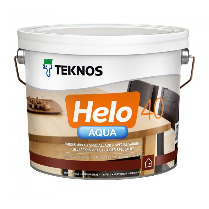 TEKNOS HELO AQUA 40 лак водоразбавляемый полуглянцевый