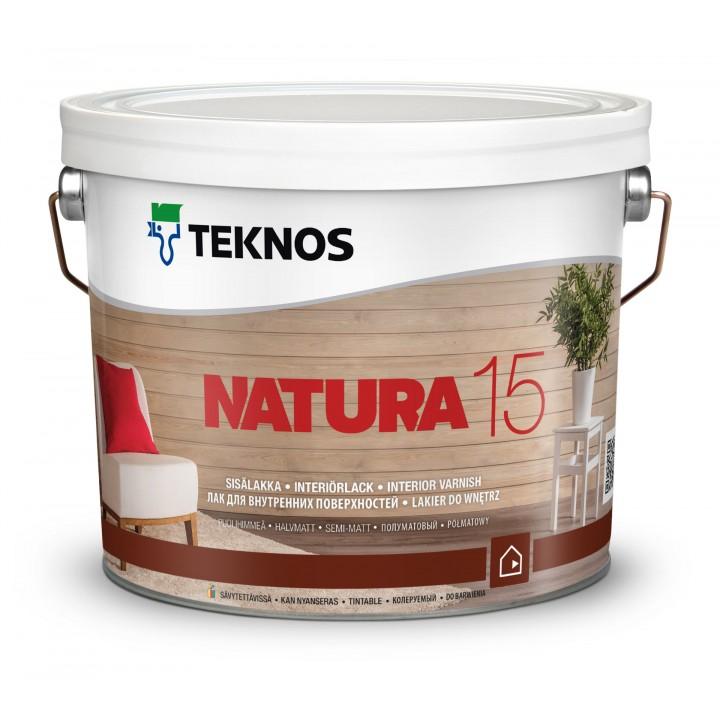 TEKNOS NATURA 15 лак для внутренних поверхностей полуматовый
