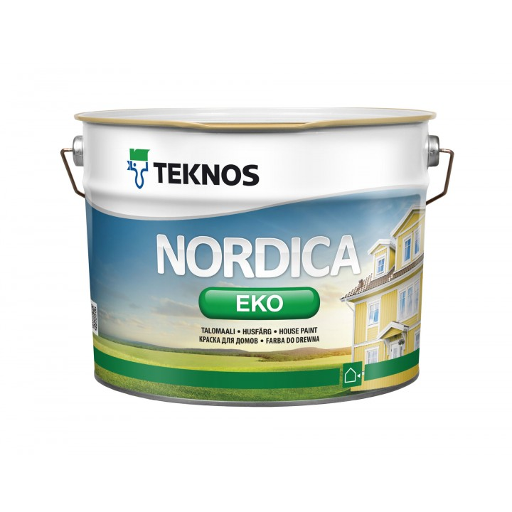 TEKNOS NORDICA EKO краска для домов