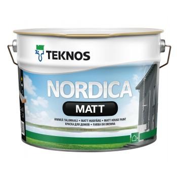 TEKNOS NORDICA MATT краска для домов