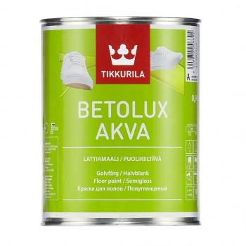 TIKKURILA BETOLUX AKVA краска для бетонных деревянных полов и лестниц