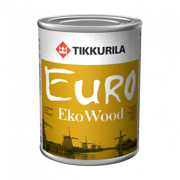 TIKKURILA EURO EKO WOOD антисептик лессирующий для древесины