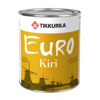 TIKKURILA EURO KIRI лак износостойкий для паркетных и деревянных полов и лестниц
