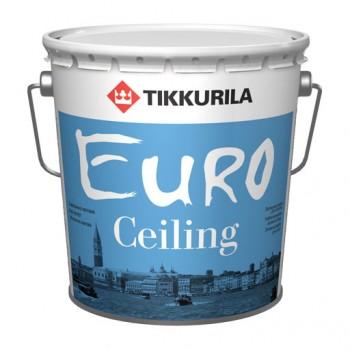 TIKKURILA EURO CEILING краска для потолка высокоукрывистая