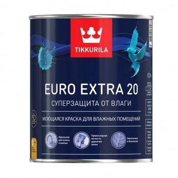 TIKKURILA EURO EXTRA 20 краска интерьерная для влажных помещений