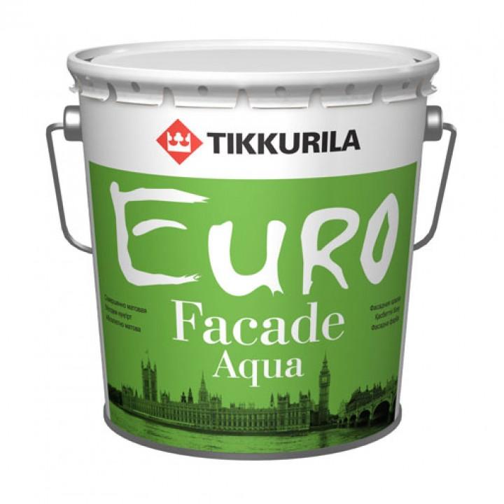 TIKKURILA EURO FACADE AQUA краска фасадная акриловая