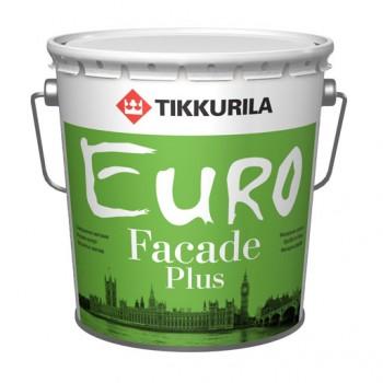 TIKKURILA EURO FACADE PLUS краска фасадная акриловая с силиконом