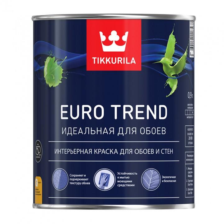 TIKKURILA EURO TREND краска для обоев и стен