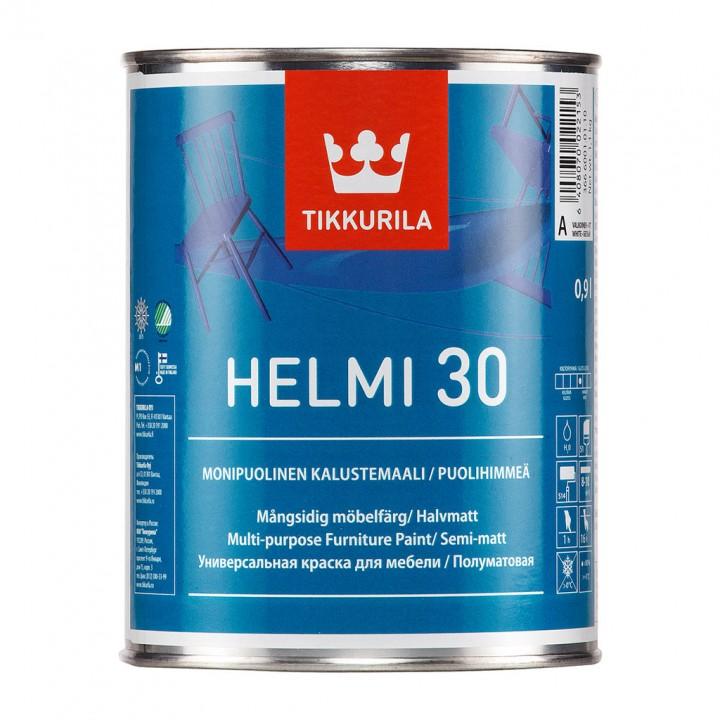 TIKKURILA HELMI 30 краска акрилатная для мебели