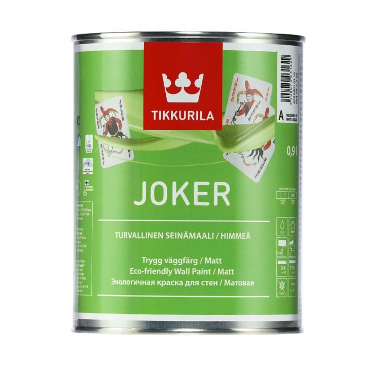 TIKKURILA JOKER краска гипоаллергенная интерьерная
