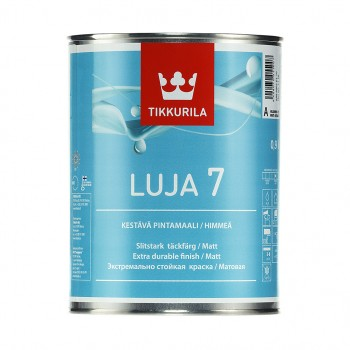 TIKKURILA LUJA 7 краска экстра-стойкая акрилатная для влажных помещений