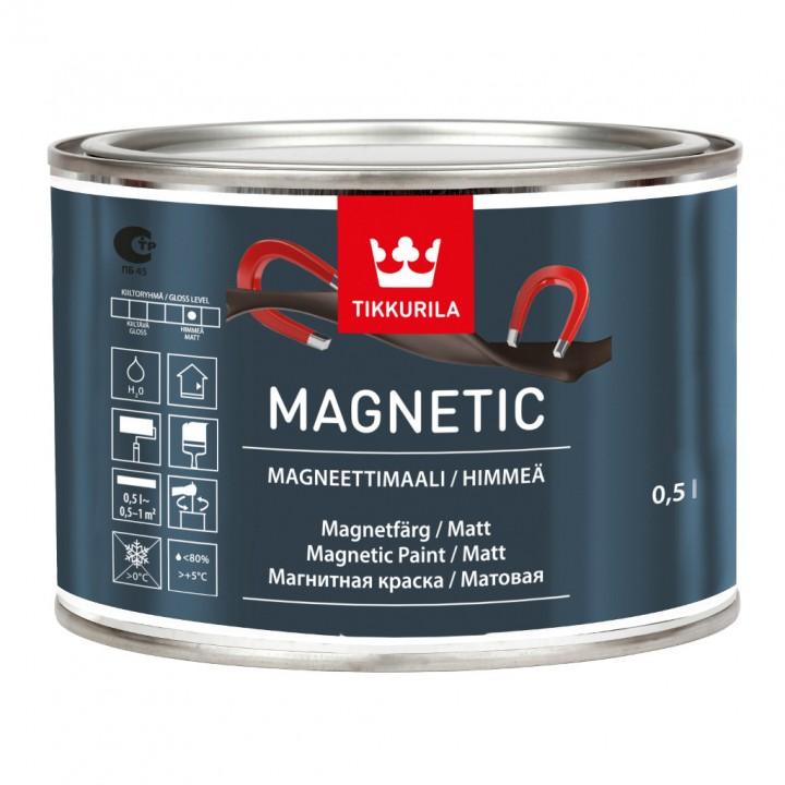TIKKURILA MAGNETIC краска магнитная