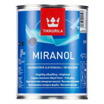 TIKKURILA MIRANOL эмаль универсальная для металлических и деревянных поверхностей
