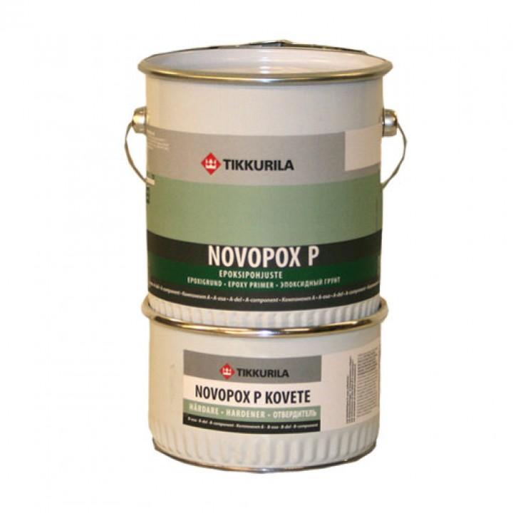 TIKKURILA NOVOPOX P лак эпоксидный грунтовочный