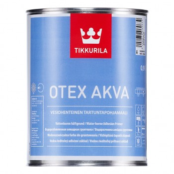 TIKKURILA OTEX AKVA грунтовка адгезионная на водной основе
