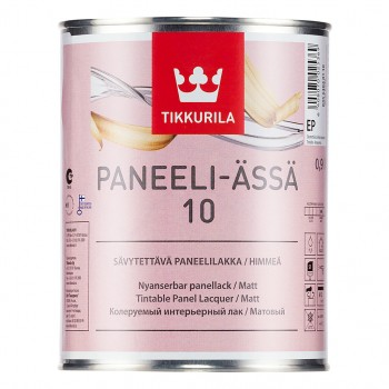 TIKKURILA PANEELI-ASSA 10 лак для деревянных панелей матовый