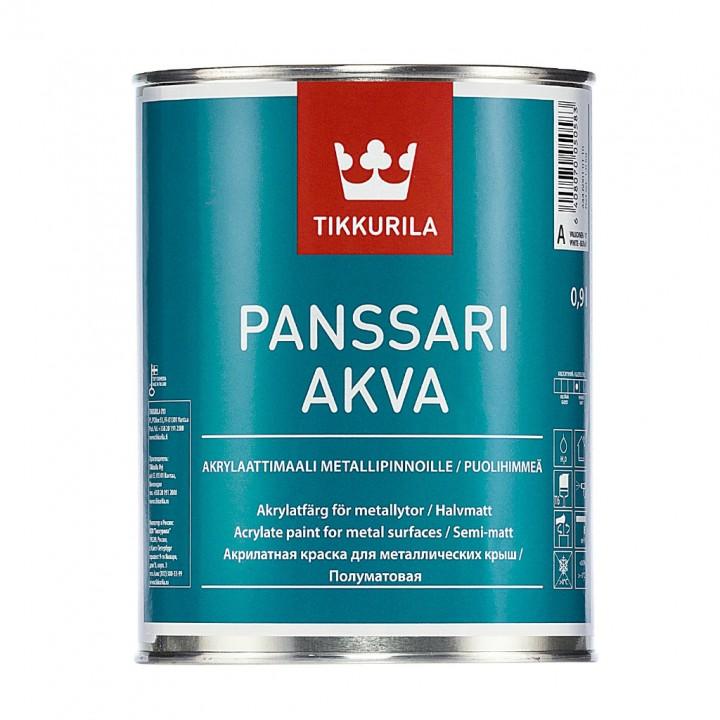 TIKKURILA PANSSARI AKVA краска акрилатная водоразбавляемая