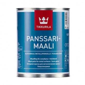 TIKKURILA PANSSARIMAALI краска алкидная для крыш и металлоконструкций
