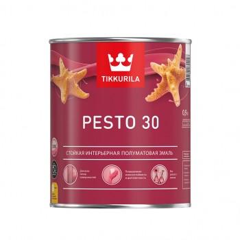 TIKKURILA PESTO 30 эмаль универсальная интерьерная полуматовая