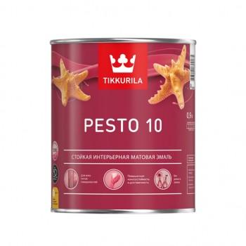 TIKKURILA PESTO 10 эмаль универсальная интерьерная матовая