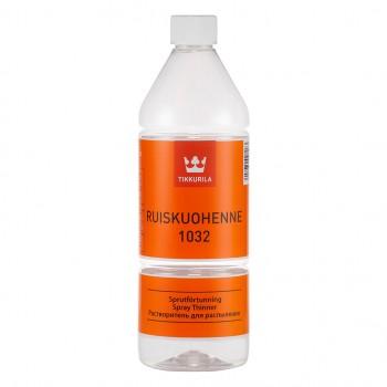 TIKKURILA RUISKUOHENNE 1032 растворитель для распыления