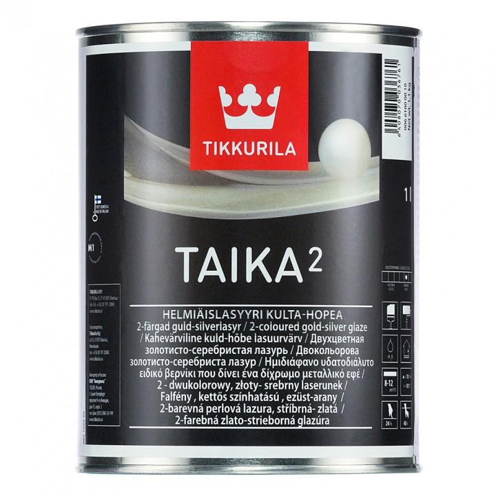 TIKKURILA TAIKA 2 лазурь двухцветная перламутровая