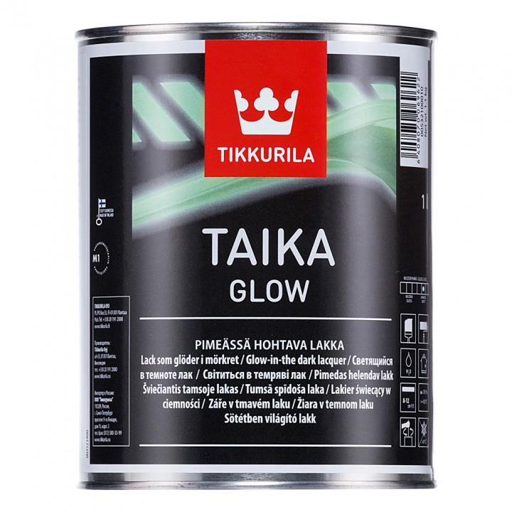 TIKKURILA TAIKA GLOW лак с эффектом свечения матовый