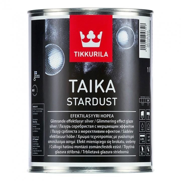 TIKKURILA TAIKA STARDUST лазурь с мерцающим эффектом