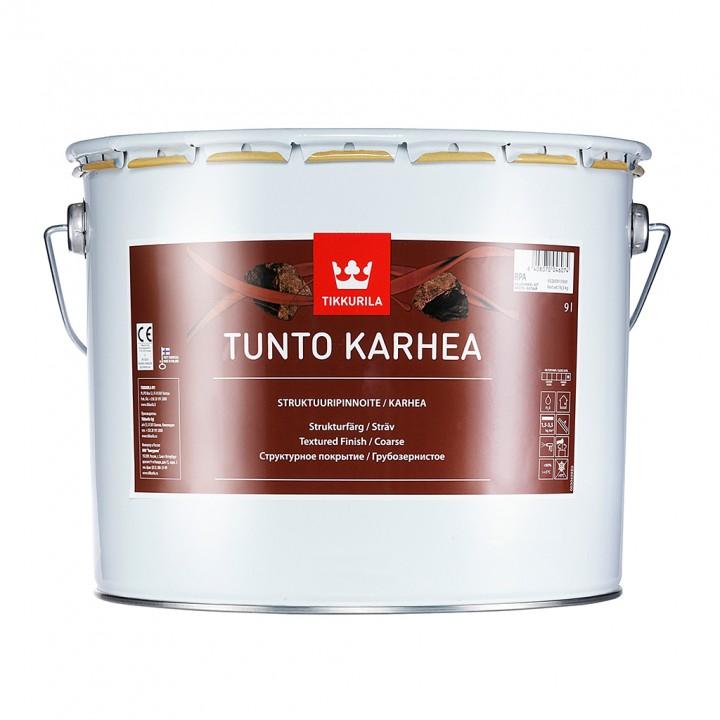TIKKURILA TUNTO KARHEA краска декоративная грубозернистое покрытие