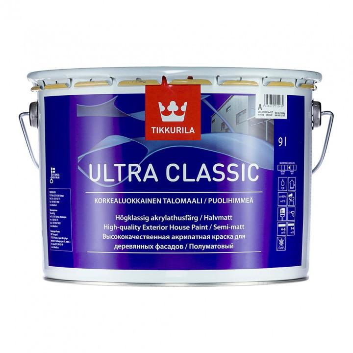 TIKKURILA ULTRA CLASSIC краска фасадная для деревянных поверхностей