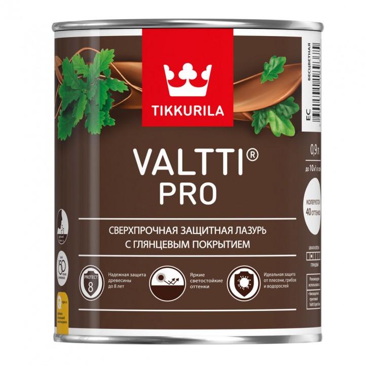 TIKKURILA VALTTI PRO антисептик лессирующий сверхпрочный защитный