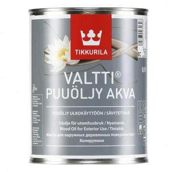 TIKKURILA VALTTI PUUOLJY AKVA масло для дерева