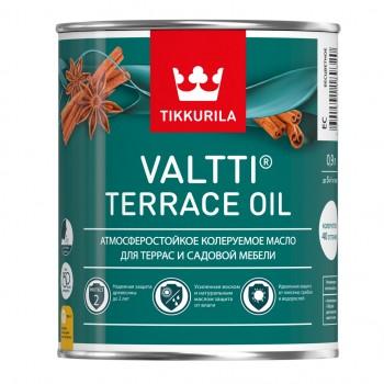 TIKKURILA VALTTI TERRACE OIL масло атмосферостойкое для террас и садовой мебели