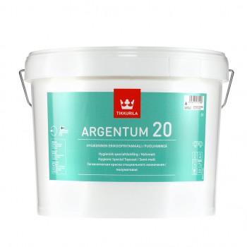 TIKKURILA ARGENTUM 20 краска антимикробная для стен и потолков