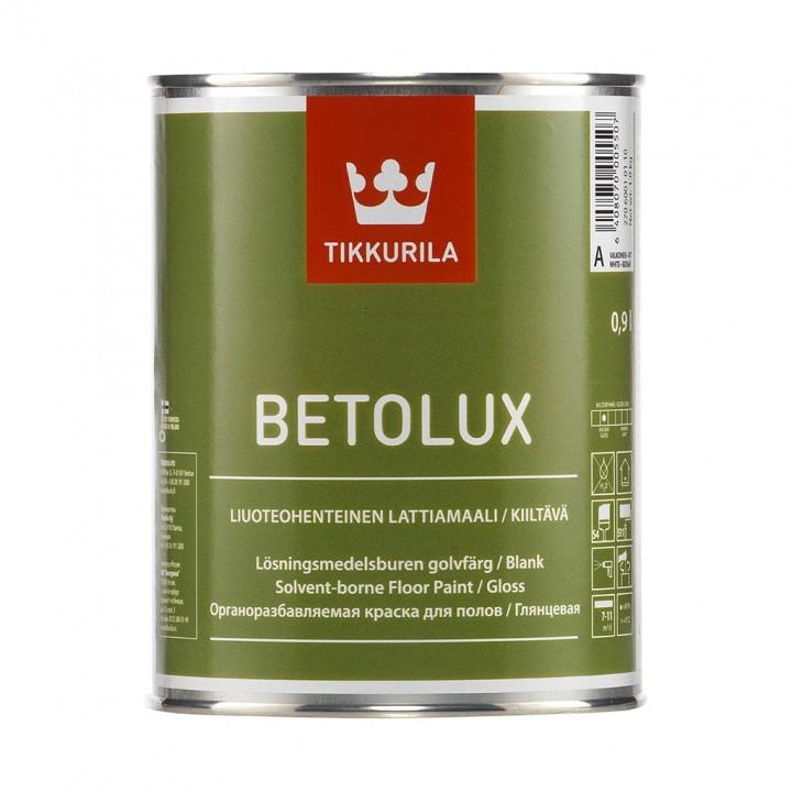 TIKKURILA BETOLUX краска для бетонных и деревянных полов