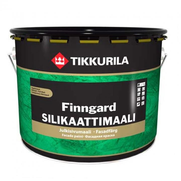 TIKKURILA FINNGARD SILIKAATTIMAALI краска фасадная на основе жидкого стекла