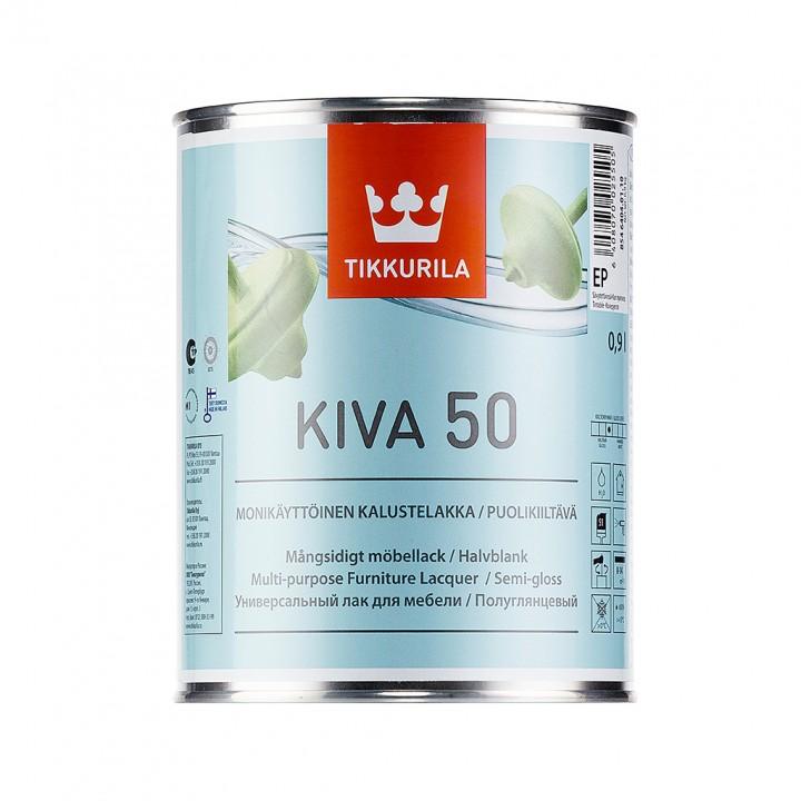 TIKKURILA KIVA 50 лак для мебели полуглянцевый