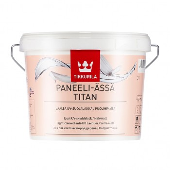 TIKKURILA PANEELI-ASSA TITAN лак для светлых пород дерева