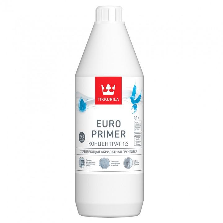 TIKKURILA EURO PRIMER грунтовка укрепляющая акрилатная