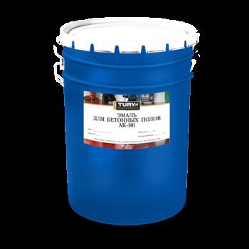 TURY АК-501 эмаль для бетонных полов