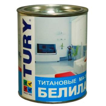 TURY Краска масляная МА-15 белила титановые